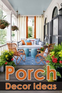 Clever Ideas for Decorating Your Porch