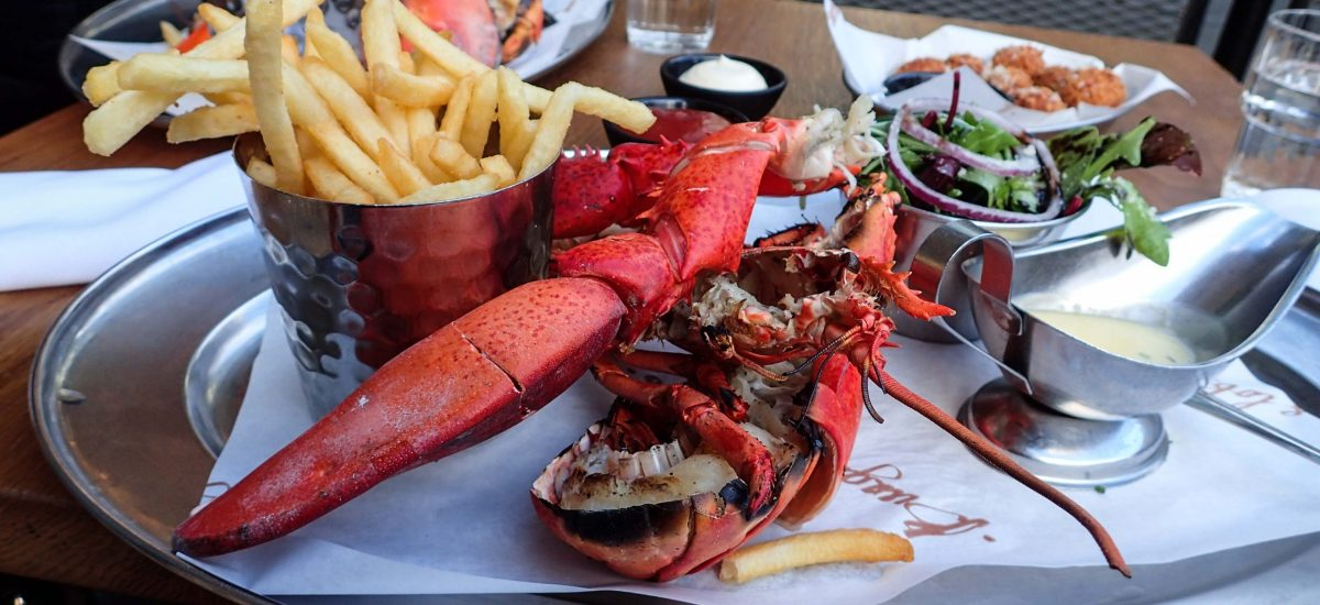Burger and Lobster