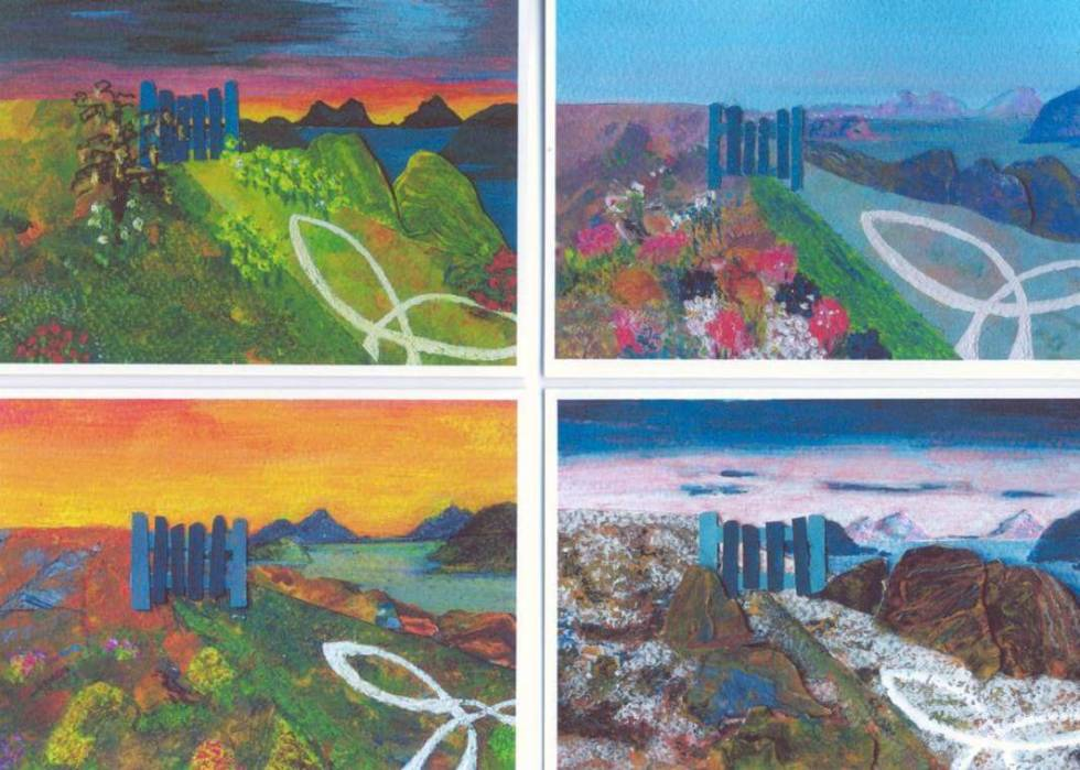 The Four Seasons – 4 Cards By Jane Knight