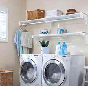 Layer the laundry room Walls