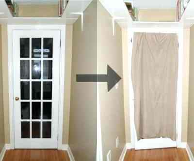 Hang Soundproofing Curtains Over the Door