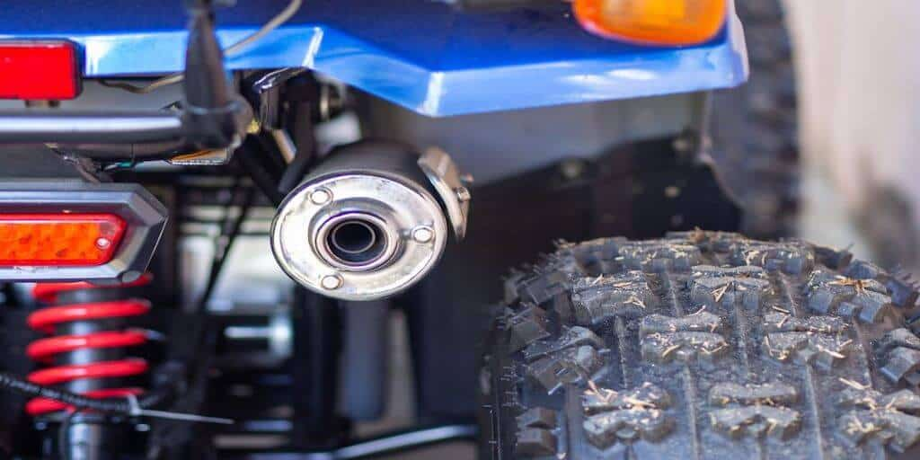 Quiet ATV Exhaust Noise