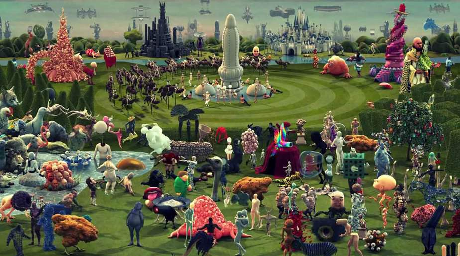 Paradise The Garden Of Earthly Delights Hieronymus