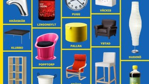 10 Hilarious Ikea Product Names Quietly