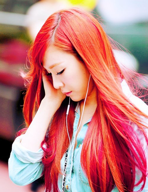 18 K Pop Idols Who Rocked Amazing Red Hair Quietly