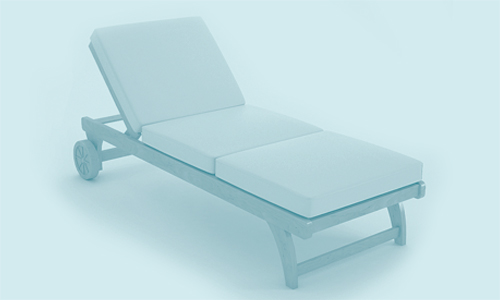Sun lounger illustrating an article or blog on why pensioners need a new do 'nothing' option.