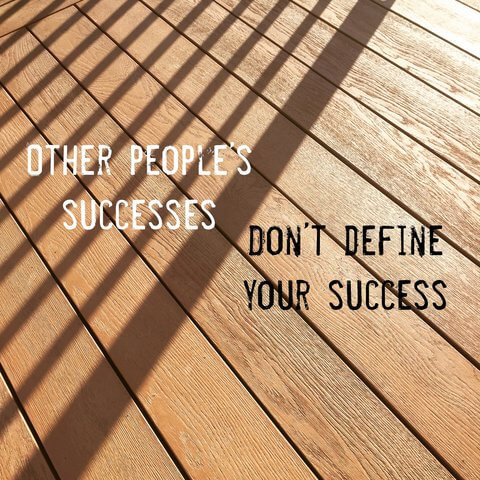 Define success on your terms