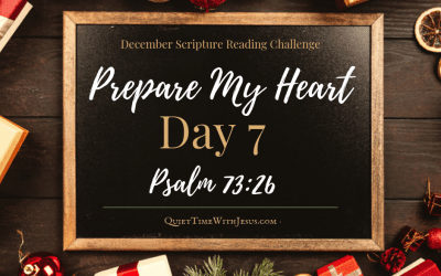 Prepare My Heart – Day 7: God Is My Strength