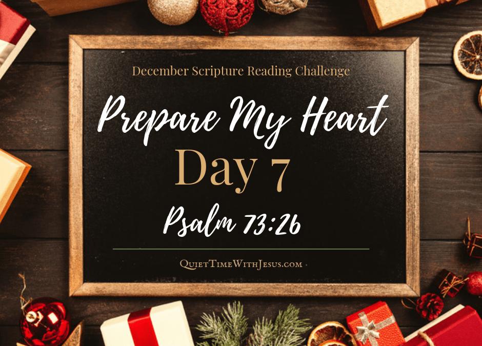 Prepare My Heart – Day 7: God Is My Strength