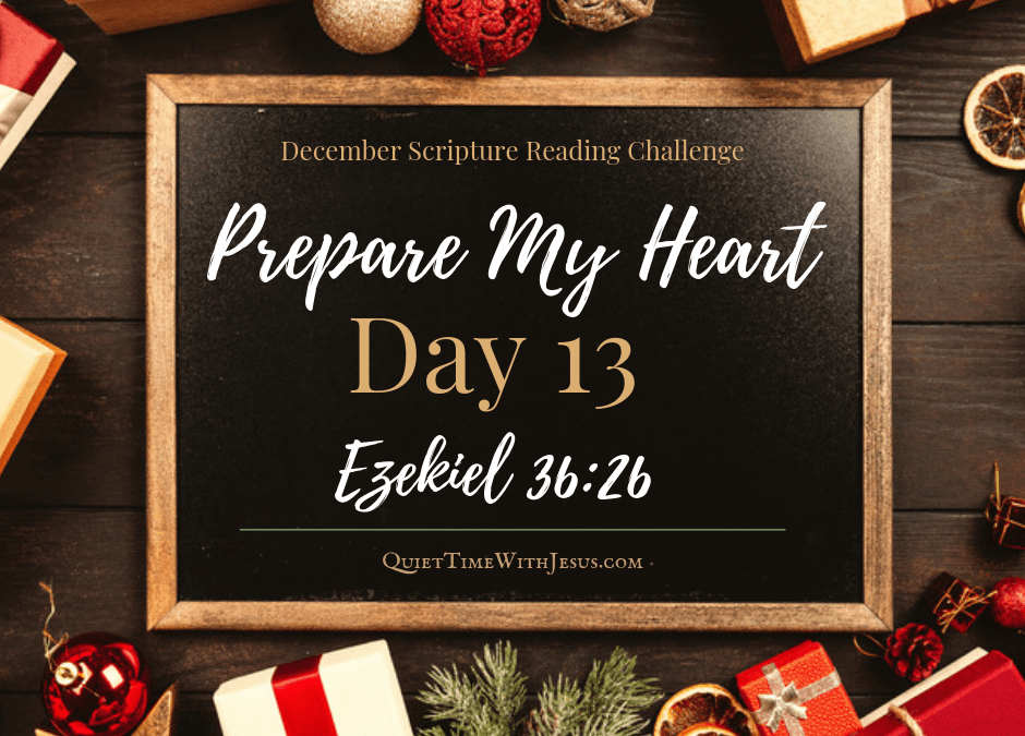Prepare My Heart – Day 13: A New Heart
