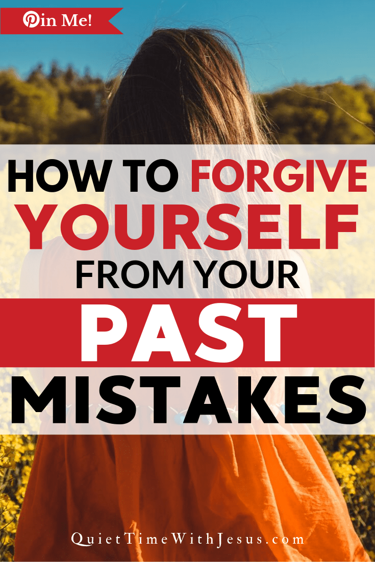 Despite our sinful nature, God continues to forgive us. In fact, He loves you so much, He says that nothing in this world that can separate you from His love, not even your past mistakes. Since He has forgiven you, you must learn to forgive you too. | @victoriatiffany QuietTimeWithJesus.com