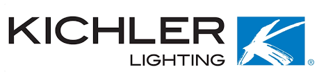 low voltage lighting Quiett Scapes vendor, Kichler logo