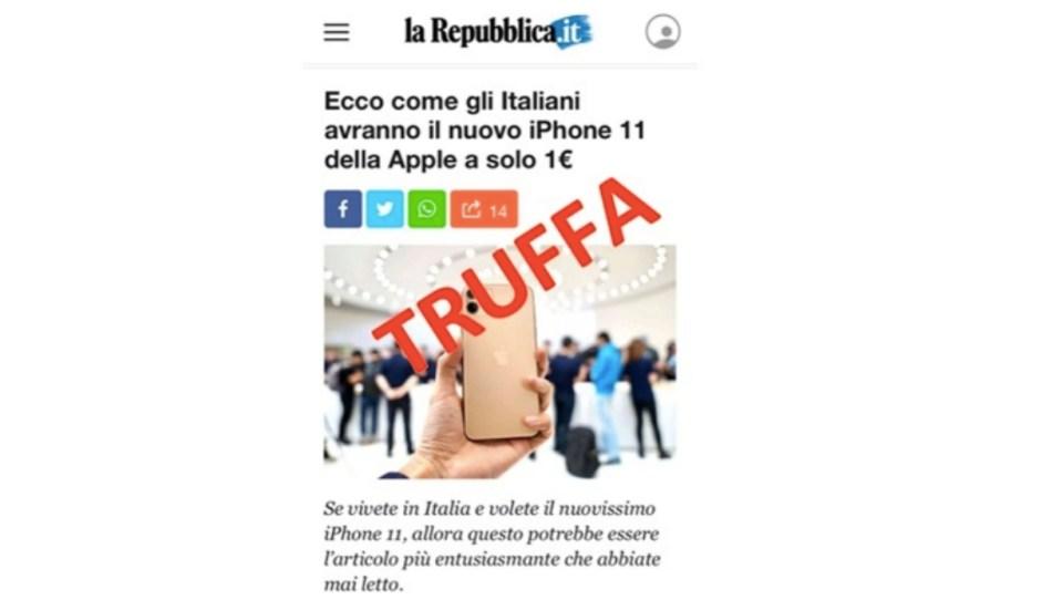 truffa repubblica