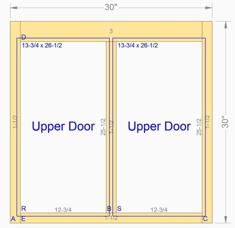 What Is A Face Frame Cabinet Door | Frameswalls.org