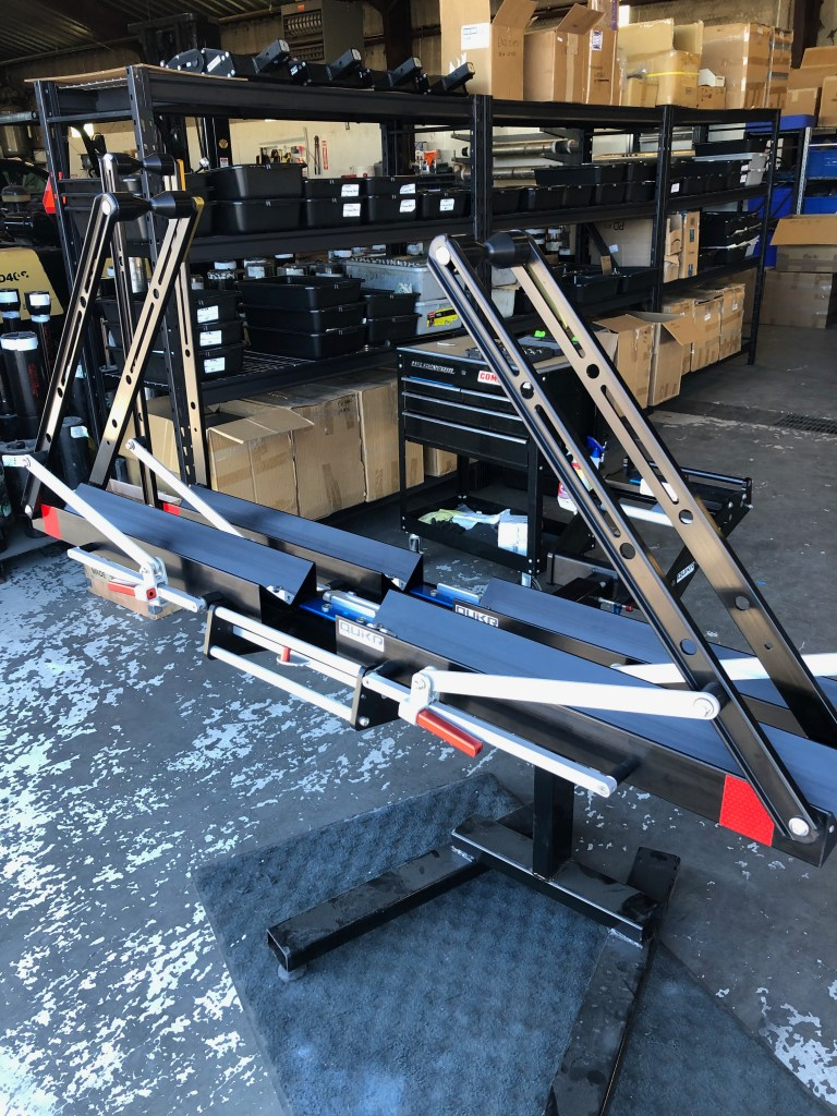 one rack and one add-on ready to go - 2