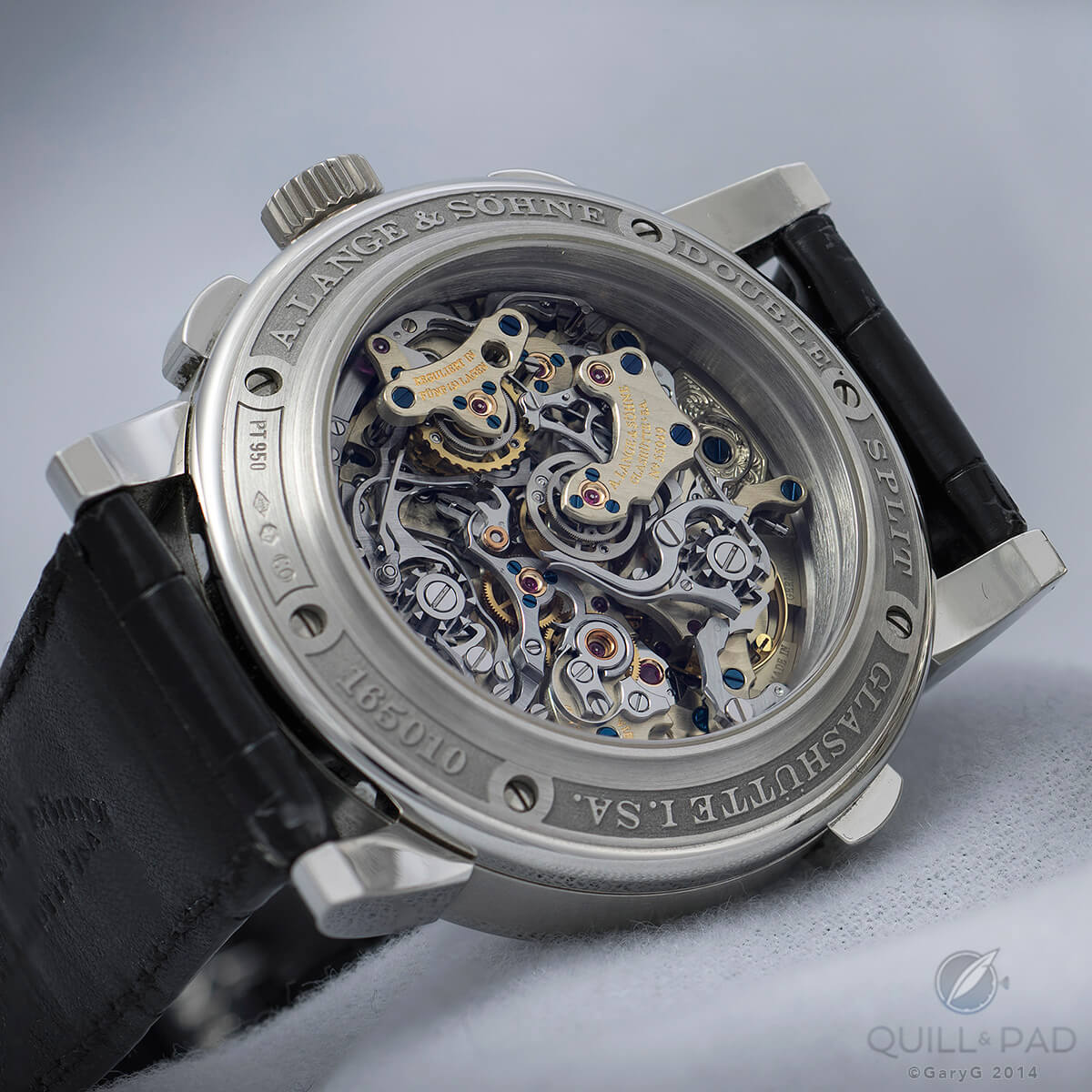 How about adding a big date to the A. Lange & Söhne Double Split?
