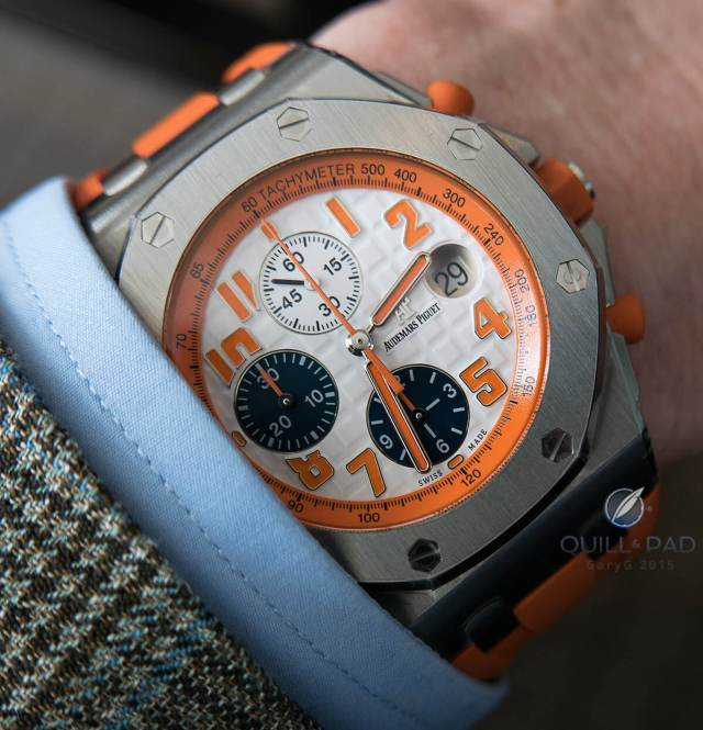 Audemars Piguet Royal Oak Offshore in stainless steel, a limited edition of 48 pieces