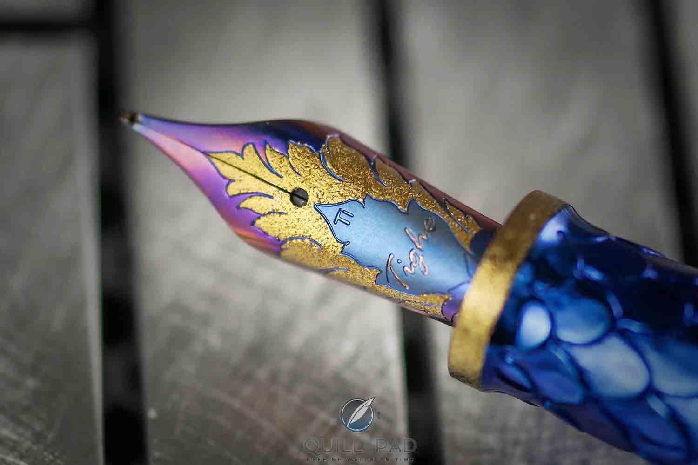 Grayson Tighe Blue Dragon nib