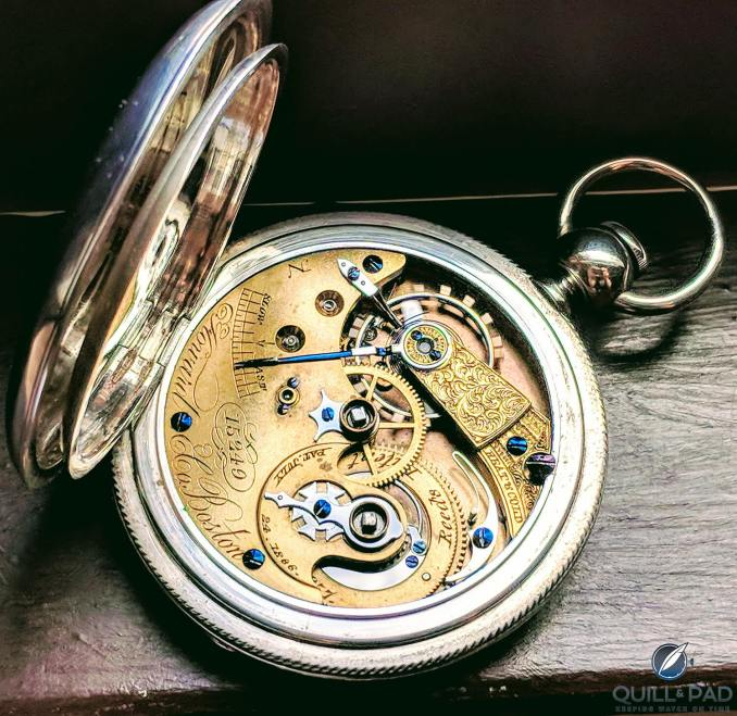 E. Howard and Co pocket watch (photo courtesy Derek Weinberg)