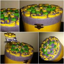 cutii decoratiuni cu mov si galben handmade quillingforyou (118)_Fotor_Collage