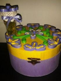 cutii decoratiuni cu mov si galben handmade quillingforyou (38)