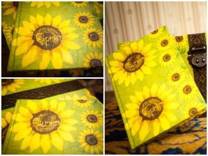 guest book floarea soarelui quilling for you