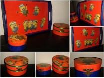 cutie pentu copii si tava cu Minions mos nicolae quilling for you (37)_Fotor_Collage