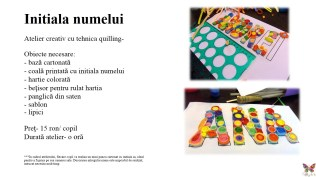 Ateliere creative saptamana altfel quilling for you (10)
