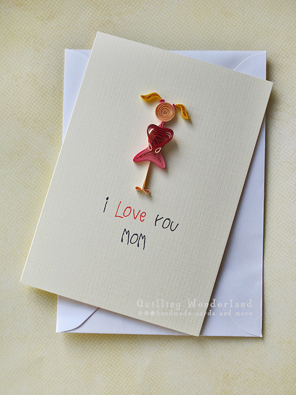 Mom's greeting card