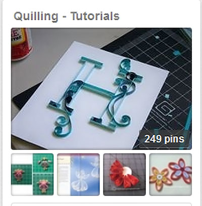 Quilling tutorials on pinterest
