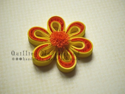 Tutorial - two tone flower