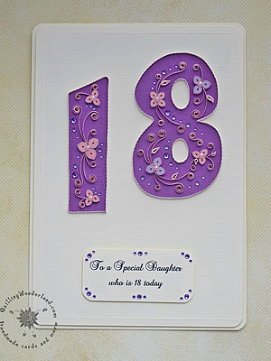 18th birthday card
