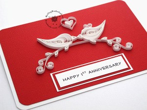 Love Birds Perfect Gift For Wedding Anniversary