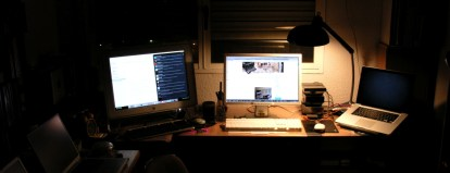 My studio setup - April 2010