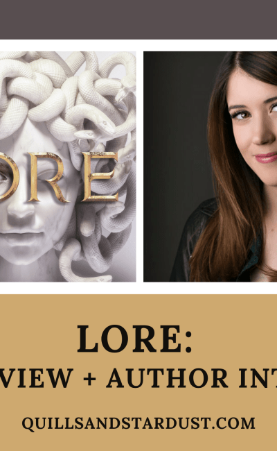 LORE: BOOK REVIEW + AUTHOR INTERVIEW