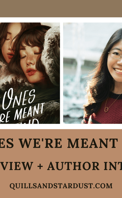 THE ONES WE'RE MEANT TO FIND: BOOK REVIEW + AUTHOR INTERVIEW