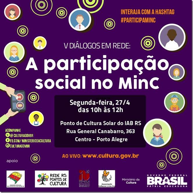 Diálogo em Rede, 4ª edição - Rio v2