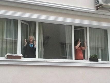 Apoio das janelas.
