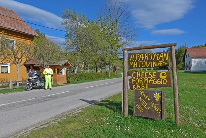 Saborsko a caminho do Parque Natural dos Lagos Plitvice