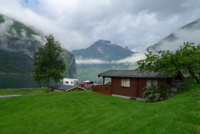 Grande Hytteutleige og Camping. Geiranger. As melhores estradas da Noruega