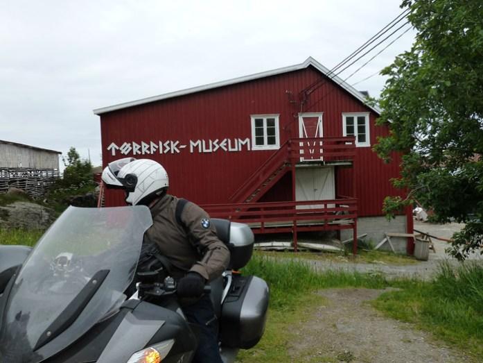 Å i Lofoten, Torkfish Museum.