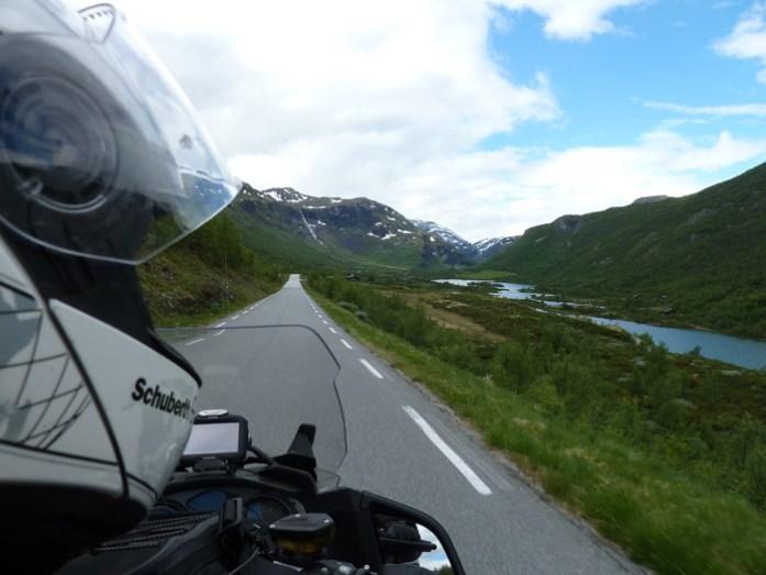 de mota Sognefjellet. As melhores rotas panorâmicas da Noruega.