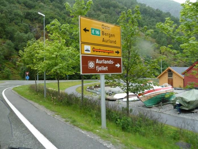 Lærdal de mota pela noruega