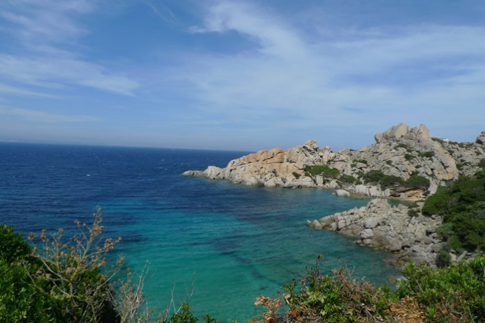 Capo Testa, Praia Rena di Ponente. Sardenha