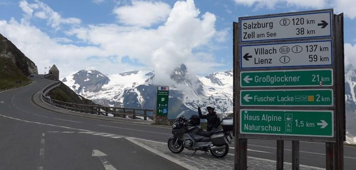 de mota pelos alpes austria