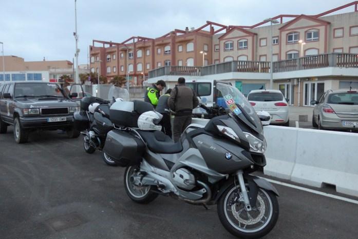 Porto de Tarifa - Embarque no Ferry para Marrocos