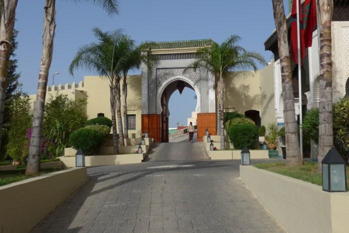 Em Fez num roteiro de viagem de mota por Marrocos