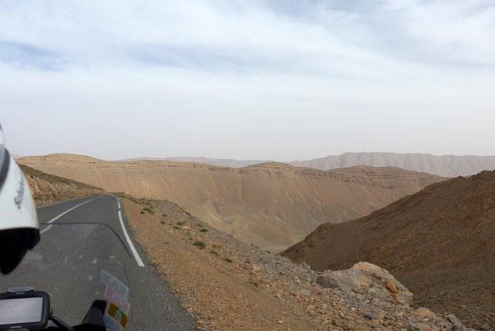 Viagem de mota a Marrocos. Gorges du Todgha