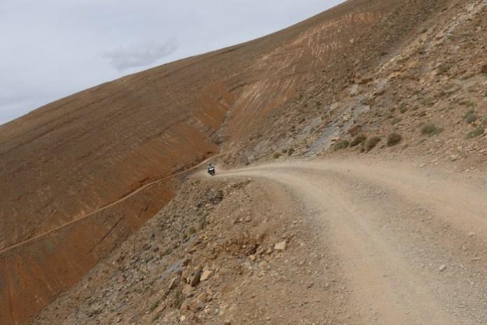 Estrada R704 Gorges du Dadès M'Semrir - Agoudal