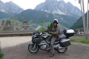 Viagem de mota nas Dolomites - Passo Campolongo